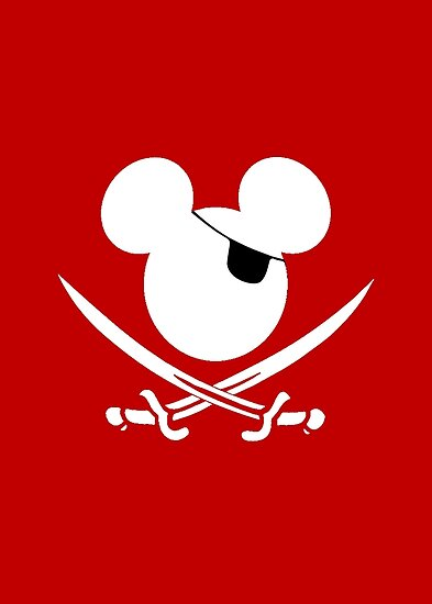 Pirate Mickey Mouse by sweetsisters