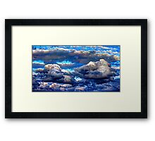 Heavy clouds #2 Framed Print