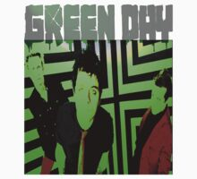Green Day One Piece - Long Sleeve