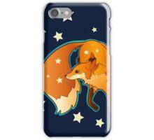 Fox Dancing in the Stars iPhone Case/Skin