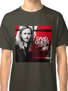 David Guetta Listen Again Classic T-Shirt