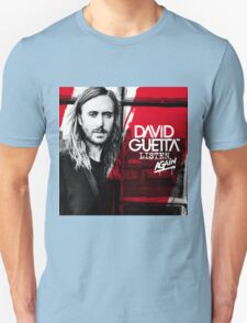 David Guetta Listen Again Unisex T-Shirt