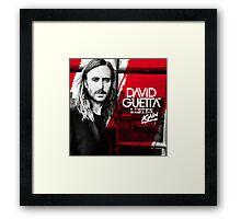 David Guetta Listen Again Framed Print