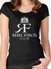 Rebel Forces Logo Tee Women's Fitted Scoop T-Shirt