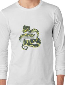 Broad-headed Snake Long Sleeve T-Shirt