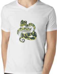 Broad-headed Snake Mens V-Neck T-Shirt