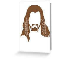 Fili's Beard Greeting Card