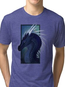 Wings of Fire - Whiteout Headshot Tri-blend T-Shirt
