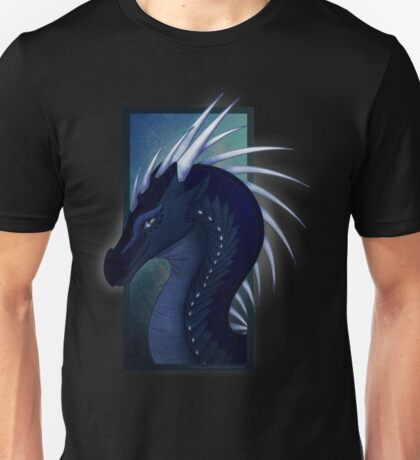 Wings of Fire - Whiteout Headshot Unisex T-Shirt