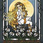Moonstone Nouveau by Ameda Nowlin