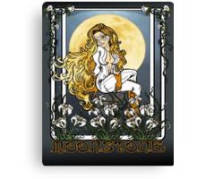 Moonstone Nouveau Canvas Print