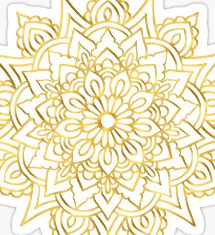 Golden Mandala Sticker