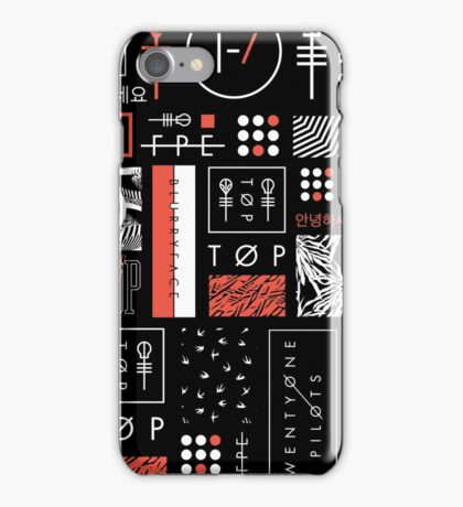 Icons For Teenagers iPhone Case/Skin