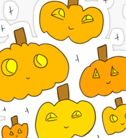 pumpkins! Sticker