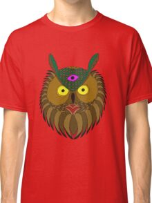 All Knowing Owl  Classic T-Shirt