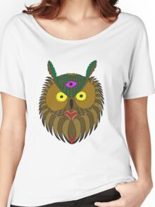 All Knowing Owl  Women's Relaxed Fit T-Shirt