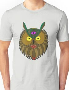 All Knowing Owl  Unisex T-Shirt