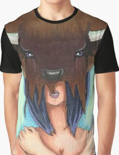Bison Girl Graphic T-Shirt