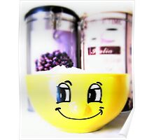 Sugar Smile with Coffee Poster