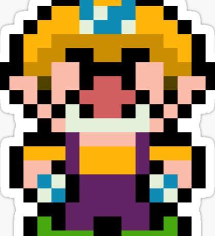 Pixel Wario Sticker