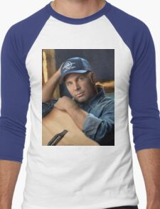 Garth Brooks TEL01 Men's Baseball ¾ T-Shirt