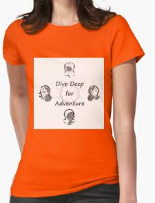 Diving Adventure Womens Fitted T-Shirt
