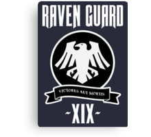 Raven Guard XIX - Warhammer Canvas Print