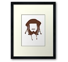Ori's Beard Framed Print