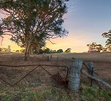 Farmland, Old Princess Hwy, Adelaide Hills by Mark Richards
