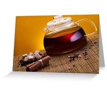 Tea Greeting Card