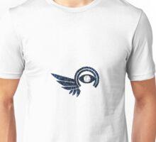 Elyrian Identity Check Logo - Blues Unisex T-Shirt
