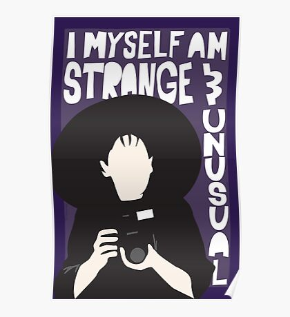 Strange and Unusual Poster