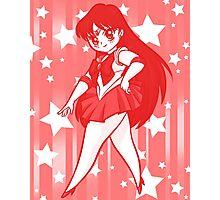 Chibi Sailor Mars Photographic Print