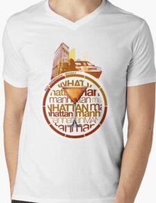 Manhattan recipe Mens V-Neck T-Shirt