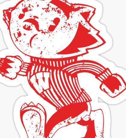 Whistlin Bucky   Wisconsin Badgers Sticker