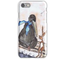THE HARE & THE CROW iPhone Case/Skin