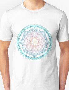 Lotus Om Mandala Illustration Unisex T-Shirt