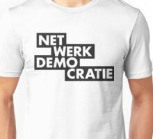 net werk demo cratie Unisex T-Shirt