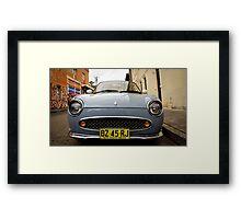Nissan Figaro Framed Print