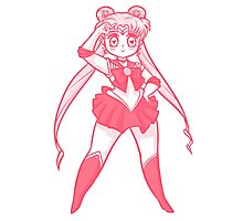 Chibi Sailor Moon v2 Photographic Print