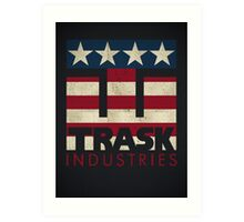 Trask Industries - Vintage Flag Art Print