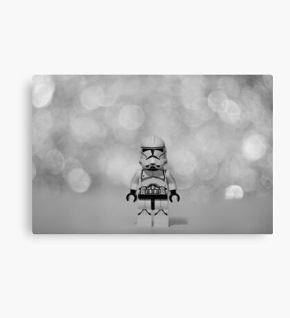 The Trooper Canvas Print