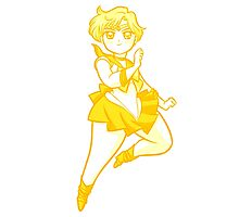 Chibi Sailor Uranus v2 Photographic Print