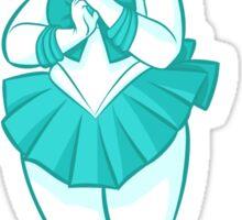 Chibi Sailor Neptune v2 Sticker
