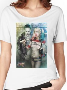 Harley Quinn & The Joker  Women's Relaxed Fit T-Shirt
