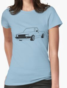 VW Caddy  Womens Fitted T-Shirt