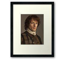 Jamie Fraser Outlander  Framed Print
