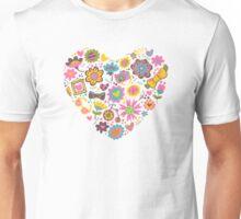 Hipster flowers Unisex T-Shirt