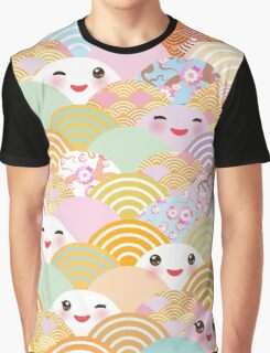 Kawaii Fans Graphic T-Shirt
