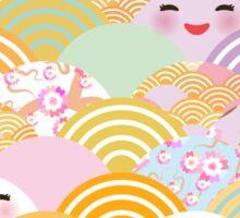Kawaii Fans Sticker
